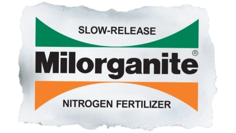 Milorganite Slow-Release Fertilizer logo