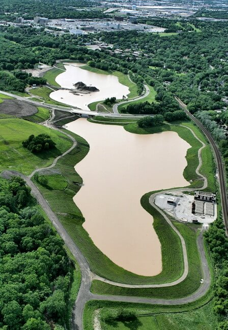 Milwaukee County Grounds Flood Management Basin