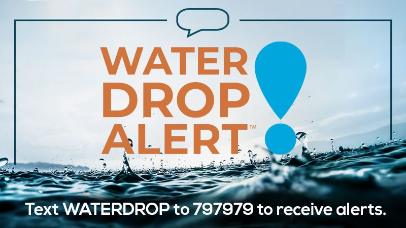 Water Drop Alert Milwaukee