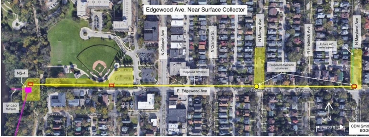 edgewood avenue project map